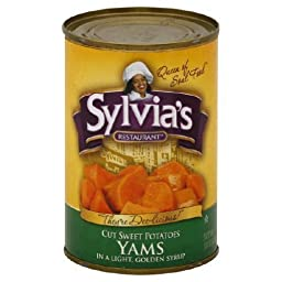 Sylvias Yams Light Syrup