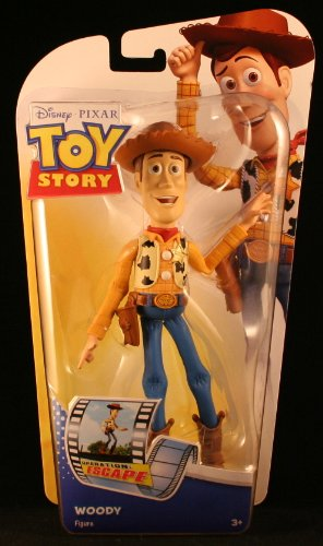 WOODY * OPERATION ESCAPE * Disney / Pixar Toy Story * 6 INCH * Action Figure (Helmet Disney Football)