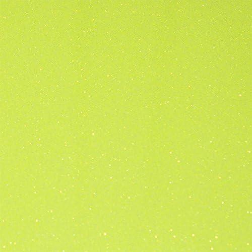 Flex Camiseta de textil pantalla para plotter 5 unidades DIN A4 – Glitter Neon Yellow – siser g0022: Amazon.es: Jardín