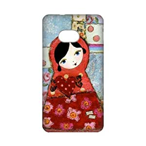 Top Sale Russian Doll Matryoshka Doll Hard Plastic Cover Case (HD Image) For HTC One M7-04