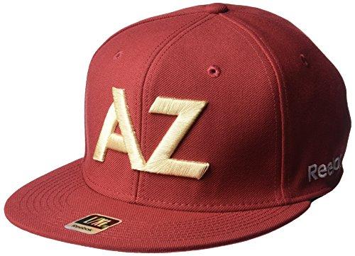 fan products of NHL Arizona Coyotes Men's SP17 Oversized Logo Flat Visor Flex Cap, Red, Large/X-Large