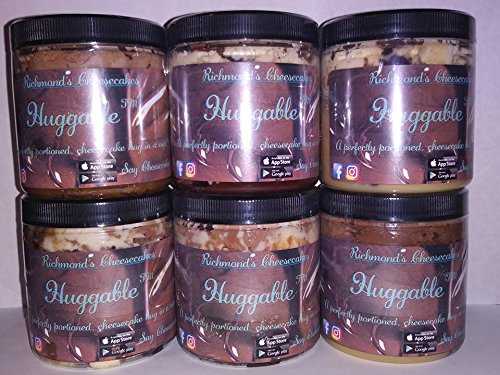 Chocolate Chocolate Chip Cheesecake (Richmond's Cheesecakes Huggable (6 Pack Chocolate Lovers Flavors))