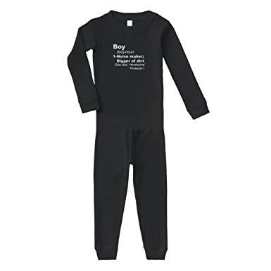 amazon com boy meaning noise maker long sleeve sleepwear pajama 2
