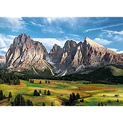 Clementoni 39414 Clementoni-39414 Collection-The Coronation of The Alps-1000 Pieces, Multi-Colour: Toys & Games