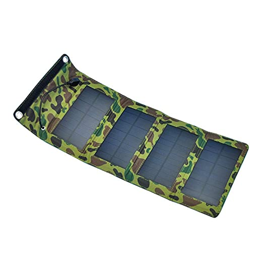 Neoron Nuevo Camuflaje Plegable del Panel Solar, Cargador ...
