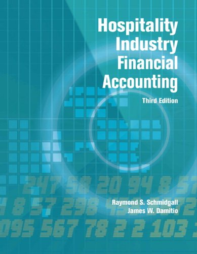 Hospitality Industry Financial Accounting with Answer Sheet (AHLEI) (3rd Edition) (AHLEI – Hospitality Accounting / Financial Management)