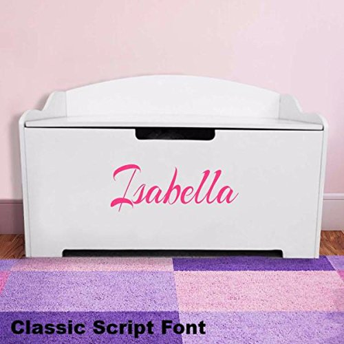Personalized Toy Box (Personalized Dibsies Modern Expressions Toy Box - Girls)