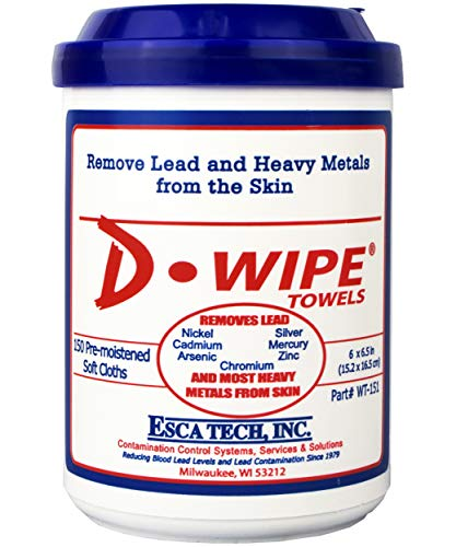 D-Lead D-Wipe Disposable Towels - 150 towels Per Container, WT-151