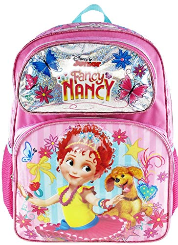 Fancy Nancy Deluxe Embossed 16 inch Backpack