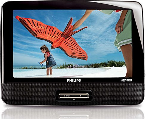 Philips PD9012 9 Single Widescreen Portable In Car DVD Player PD9012S CR (Certified Refurbished)