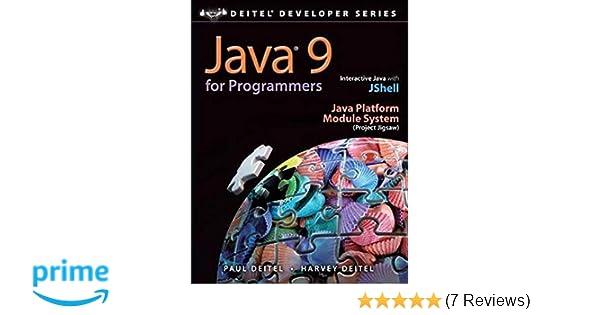 Java 9 for Programmers (4th Edition) (Deitel Developer ...
