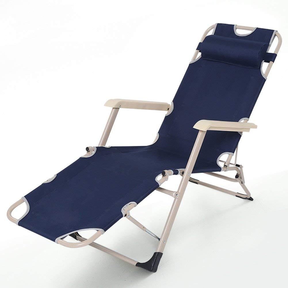 YXB bärbar hopfällbar säng/siesta, sommar, eftermiddagsstol/kontor kanvas hopfällbar säng/fritid eskort stol-C a