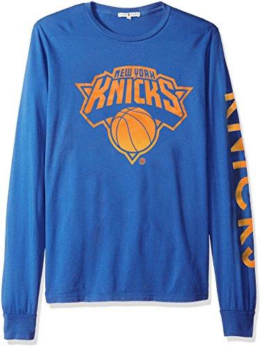 NBA New York Knicks Men's Slam Dunk Long Sleeve Tee