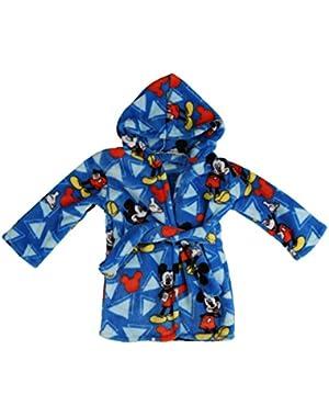 Mickey Mouse Flannel Fleece Robe, Blue