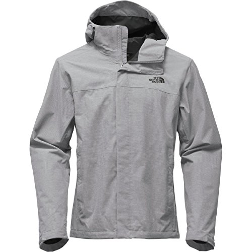 The North Face Men's Venture 2 Jacket - Tall Mid Grey Ripstop Heather/Mid Grey Ripstop Heather - Nylon Shell Ripstop