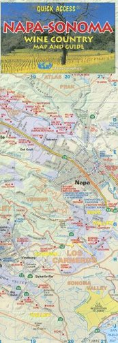 Napa and Sonoma Wine Country Map and Guide (California Wine Region Maps)