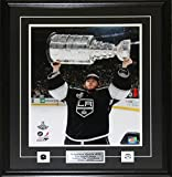 Midway Memorabilia Jonathan Quick Los Angeles Kings Stanley Cup 16x20 NHL Hockey Collector Frame