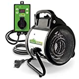 Bio Green Electric Fan Heater for Greenhouse Palma 1500 W - incl. Digital