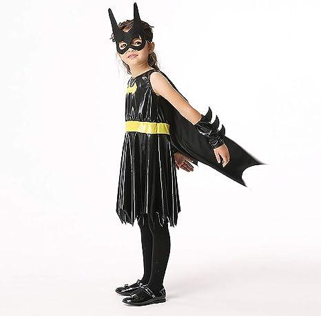 ROCK1ON Disfraz de DC Superhéroe Batman para Niños, Disfraces de ...
