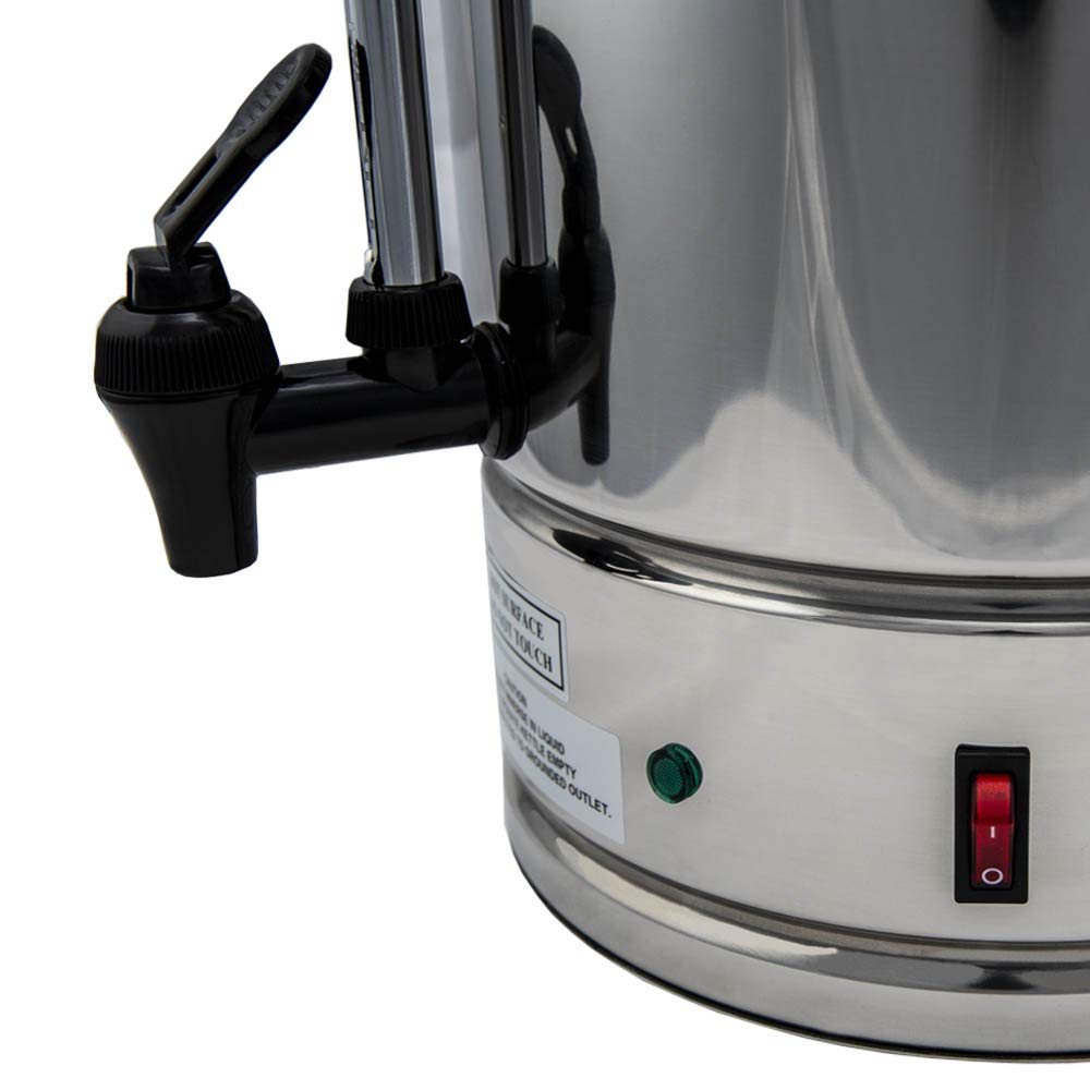 SYBO CP15-V2 Commercial coffee urn, 15 Liter, Metallic by SYBO (Image #5)