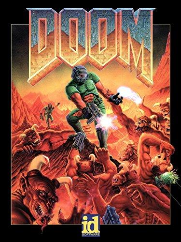 Doom Original Video Game Retro Art Print Poster