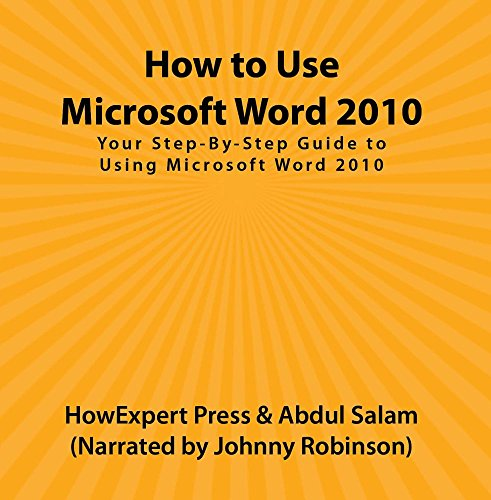 Price comparison product image How to Use Microsoft Word 2010