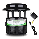 RockBirds Mosquito Killer Lamp and Bug Zapper, Indoor Fly Trap, Control with Stand LED Light Mosquitoes, Wasps, Etc. – Perfect for Patio, Gardens, etc.