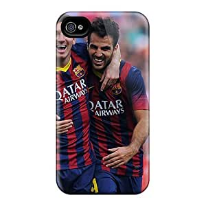 New Arrival Premium 6plus Cases Covers For Iphone (the Football Players Of Barcelona Francesc Fabregas And Lionel Messi) Kimberly Kurzendoerfer