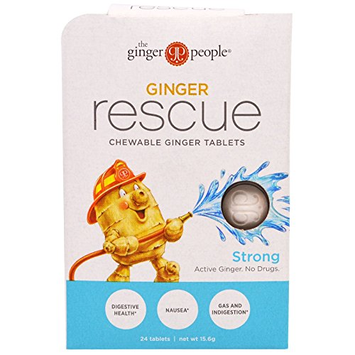 Ginger People Rescue Chewable Tablets product image