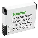Kastar Battery (1-Pack) for Panasonic DMW-BCM13 DMW-BCM13PP & Lumix DMC-FT5 Lumix DMC-LZ40 DMC-TS5 Lumix DMC-TZ37 DMC-TZ40 DMC-TZ41 Lumix DMC-TZ55 DMC-TZ60 Lumix DMC-ZS27 DMC-ZS30 DMC-ZS35 DMC-ZS40