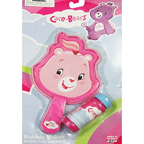 Care Bears Bubble Maker Tray And Wand (1ct)