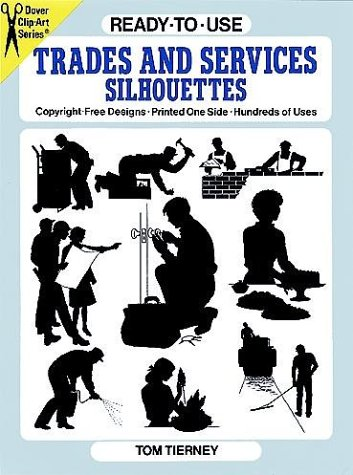 Ready-to-Use Trades and Services Silhouettes (Clip Art)