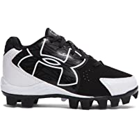 2baddc205 Under Armour Kids UA Clean Up Low RM Baseball Cleats 2.5 Black