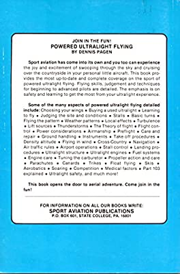 Powered Ultralight Flying (Sport Aviation Publications Series - No. 5)