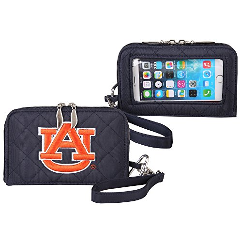 (Auburn Tigers Quilted Cell Phone Wallet)
