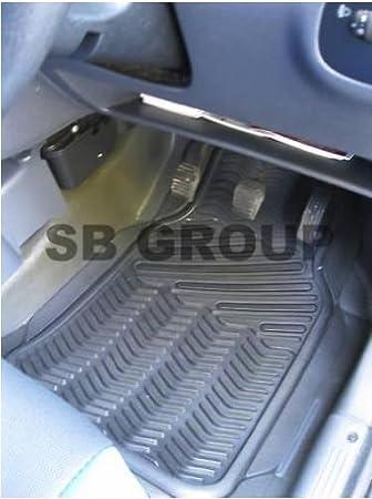 RED METALLIC PLATE PVC RUBBER MAT RM 700N TO FIT A MINI COOPER CAR
