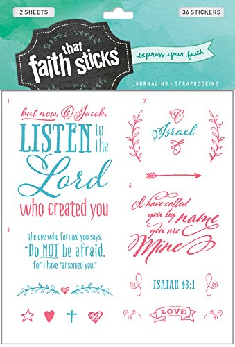 Isaiah 43:1 (Faith That Sticks Stickers)