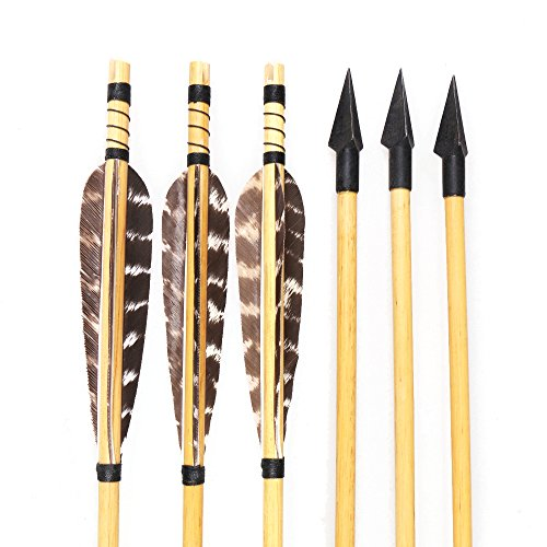 Wooden Arrow Shaft - 4