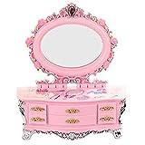 POPgifts Dresser Storage Box Music Box Jewelry Box Xmas Present for Girls