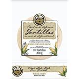 La Tortilla Factory Handmade Style White Corn Street Taco 10 Pack, 260g