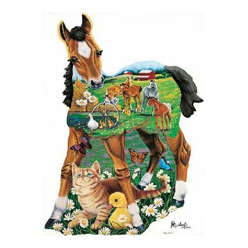 Master Pieces Pony Tales 550 Piece Jigsaw Puzzle