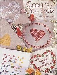 Coeurs au point de croix par Sophie Argouarc'h