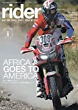 rider (ライダー) vol.8 [雑誌] (オートバイ 2016年11月号臨時増刊)