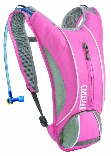 Camelbak Annadel 50 oz Hydration Pack, Aurora Pink/Frost Grey, Outdoor Stuffs