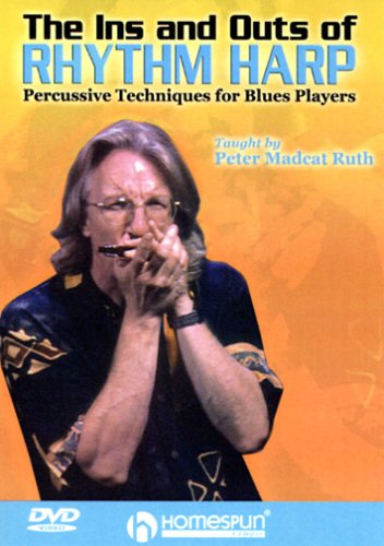 DVD-The Ins and Outs of Rhythm Harp-Percussive Techniques for Blues Players