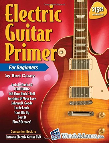 Electric Guitar Primer Book audio