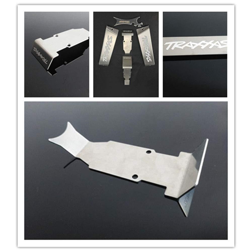Ocamo 1:10 Scale TRAXXAS Summit E-REVO Metal Protection Plate Armor Chassis Protect