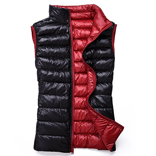 Vest Was Down Portable Autumn Thin Sided Double Slim Vest Jacket And Xuanku Vest Winter Thin E Vest Wear AP7I7nW