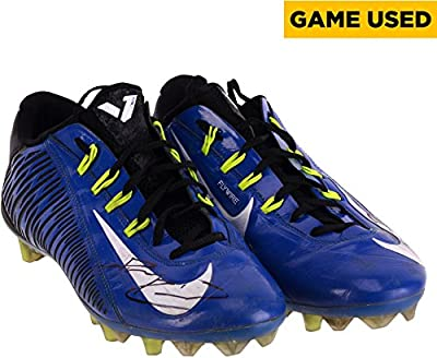 Demarco Robinson Kentucky Wildcats Autographed Game-Used NFLPA Collegiate Bowl Team National Black Nike Pair of Cleats - Fanatics Authentic Certified