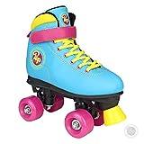 Pop Squad Malibu Boy's and Girl's Roller Skates – Beach Blue (3)